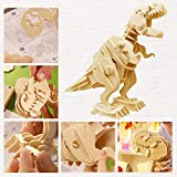 ROBOTIME Walking Trex Dinosaur 3D Wooden Craft