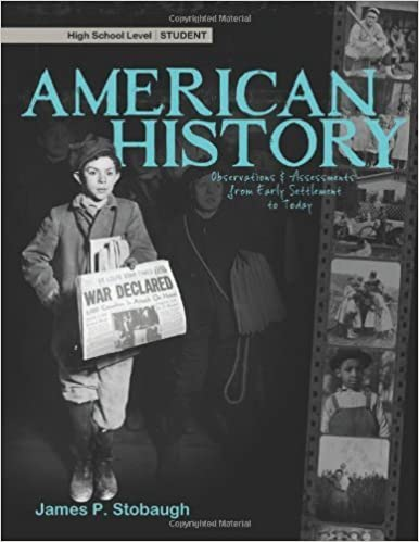 Book American History - Student by James P. Stobaugh (2012-02-29)