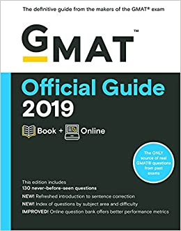 Buy GMAT Official Guide 2019: Book + Online Book Online at