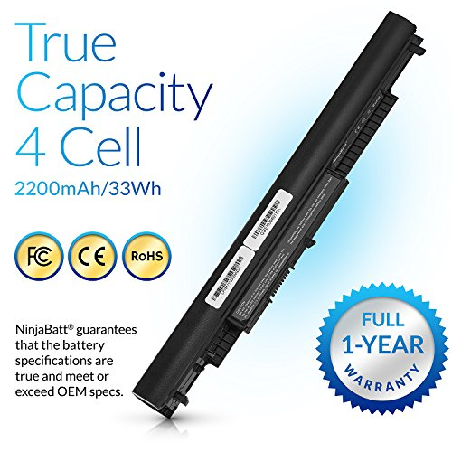 NinjaBatt Laptop Battery for HP HS04 HS03 807956-001 807957-001 807612-421  807611-221 240 G4 HSTNN-LB6U HSTNN-DB7I HSTNN-LB6V TPN-I119 807611-421