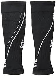 CEP Men\'s Progressive+ 2.0 Night Calf Sleeves, Size III (Calf 12.5-15-Inch), Black