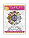 Adult coloring book : Relaxing Mandalas Volume 04 Spiral bound paperback, stress relieving patterns for all
