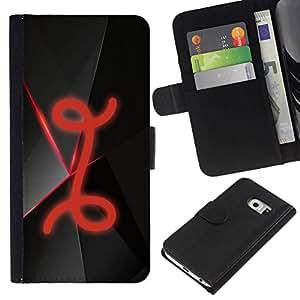 // PHONE CASE GIFT // Moda Estuche Funda de Cuero Billetera Tarjeta de crédito dinero bolsa Cubierta de proteccion Caso Samsung Galaxy S6 EDGE / I /