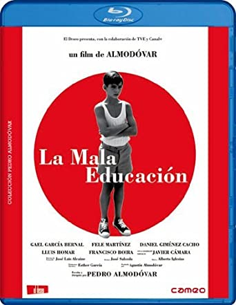 Amazon com: Bad Education [Region B]: Gael García Bernal