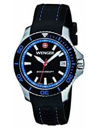 Wenger 01.0621.102 - Women's Watch, Silicon, Black Color