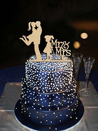 Vintage Hochzeit Cake Topper Mr Und Mrs Little Girl Mit Madchen