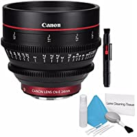 Canon CN-E 24mm T1.5 L F Cine Lens (International Model no Warranty) + Deluxe Cleaning Kit 6AVE Bundle 3