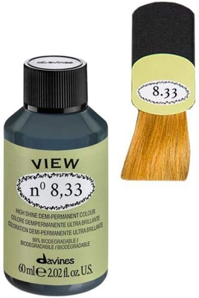 Davines View High Shine Demi-Permanent Colour 60 ml - Nº 8,33 ...
