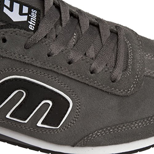 Etnies Lo-Cut Ii Ls Smu, Color: Grey/Black/White, Size: 48 Eu / 14 Us / 13.5 Uk