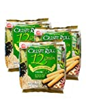 Ovo-Vegetarian 12 Grain Crispi Non-Fried Rolls (18 rolls) 3 Pack
