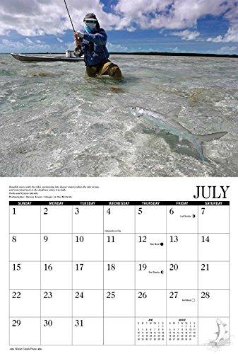 2018 Saltwater Flyfishing Calendar Photo #3