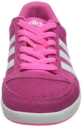 Adidas Hoops Vl W - F97828 Vit-rosa