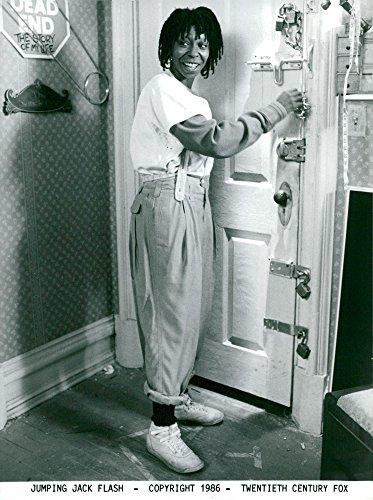 - Vintage photo of Whoopi Goldberg in Jumping Jack Flash