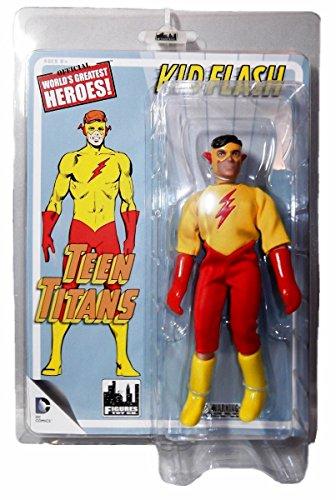 - DC Comics KID FLASH 7 Inch TEEN TITANS Series 1 ACTION FIGURE