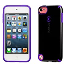 Speck CandyShell Military Grade Protection Case for iPod Touch 5th Gen, Black/Ultraviolet Purple (SPK-A2284)