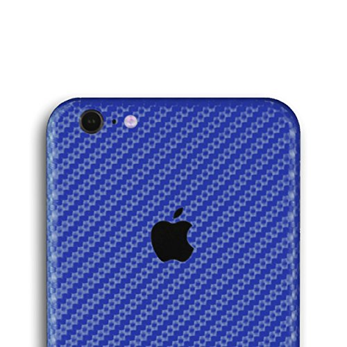 AppSkins Folien-Set iPhone 6s PLUS carbon blue
