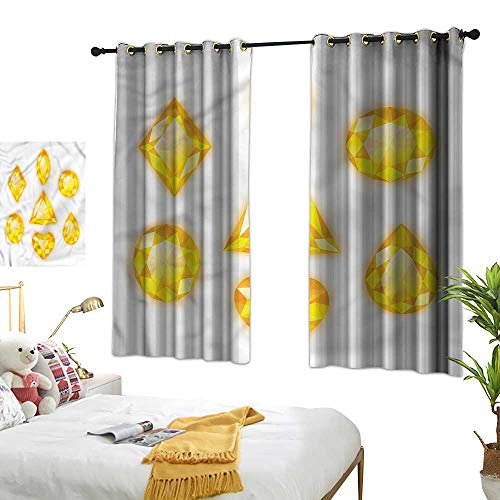 Lace Curtain Marquise - Lightly lace Curtains Diamonds,Marquise Hearts and Pear 72
