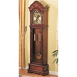 Bowery Hill Grandfather Clock in Oak