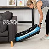 LifePro Rumblex 4D Vibration Plate Exercise Machine - Triple Motor Oscillation, Linear, Pulsation + 3D/4D Motion Vibration Platform | Whole Body Viberation Machine for Home, Weight Loss