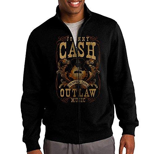 Songwriter-Musician-Johnny-Cash-Mens-Zipper-Jacket-Hoodie