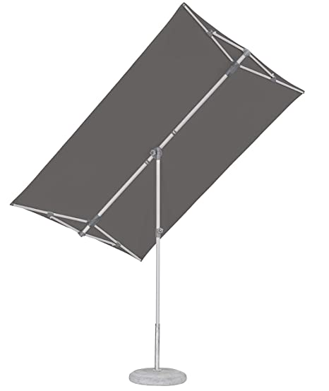 Glatz Ombrelloni Prezzi.Suncomfort By Glatz Flex Roof Ombrellone Grigio Pietra