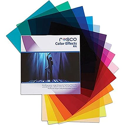 "Rosco Color Effects Filter Kit, 12 X 12"" Sheets by Rosco"
