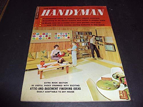 Family Handyman Oct 1963 Attic-And-Basement Finishing Ideas