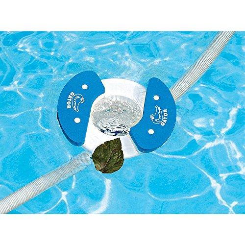Gator AutoSkim - Automatic Pool Cleaner, Skimmer & Clarifier - Suction Skimmer for (Floating Skimmer)