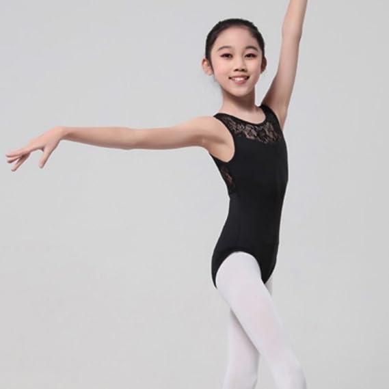 7bcdd4777a85 Hougood Girls Ballet Leotards Gymnastic Leotards Classic Bodysuit ...