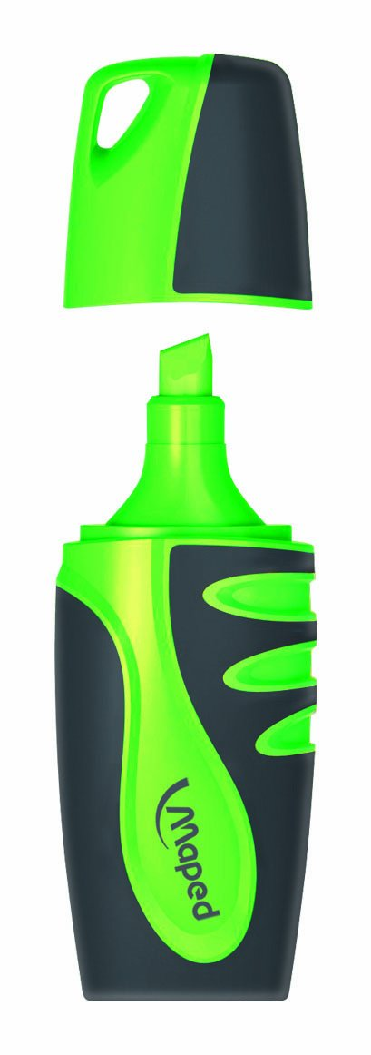 Blister 4 minimarcadores fluorescentes Maped 742777