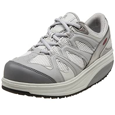 MBT Women's Sport 2 Walking Shoe (37 2/3, Grey)