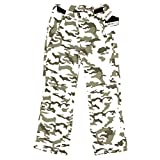 snowboard pants camo - Arctix Youth Snow Pants with Reinforced Knees and Seat, Snow Camo, Medium