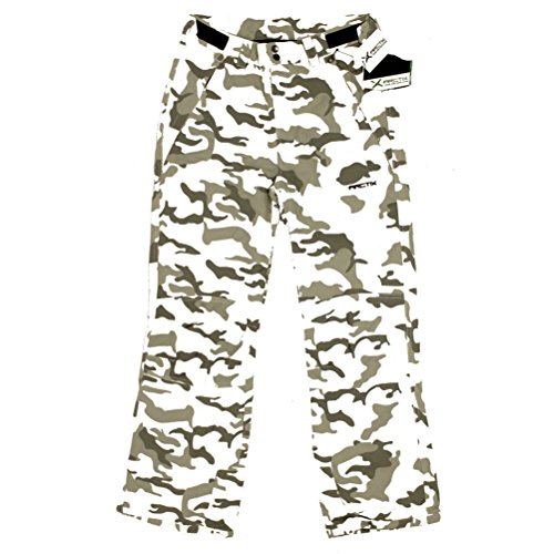 - Arctix Youth Snow Pants with Reinforced Knees and Seat, Snow Camo, Medium