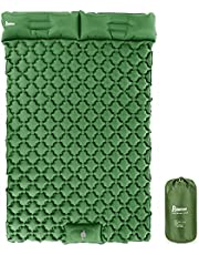 """Sleeping Pad Camping, Relefree Upgraded Inflatable Camping Mat with Built-in Pump, 2.5"""" Thick Sleeping Pads, Durable Waterproof Air Mattress Compact Ultralight Hiking Pad for Tent,Travel, Backpacking"""