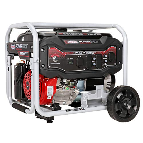 SIMPSON Cleaning SPG7593E  Portable Gas Generator with Electric Start 7500 Running Watts 9375 Starting watts