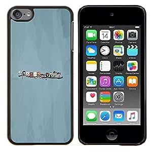 """Be-Star Único Patrón Plástico Duro Fundas Cover Cubre Hard Case Cover Para iPod Touch 6 ( Pájaros lindos"""" )"""