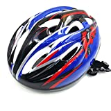 [Kuyou] Multi-Sport Helmet for Kids Cycling /Skateboard / Bike / BMX / Dry Slope Protective Gear Suitable 3-8 Years Old Boys,(Black Blue)