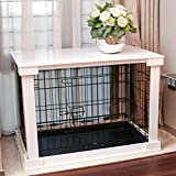 Merry Products End Table Pet Crate with Cage Cover For Sale