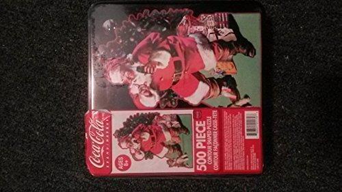 Coca Cola 500 Piece Contour Shaped Puzzle -- 19.5