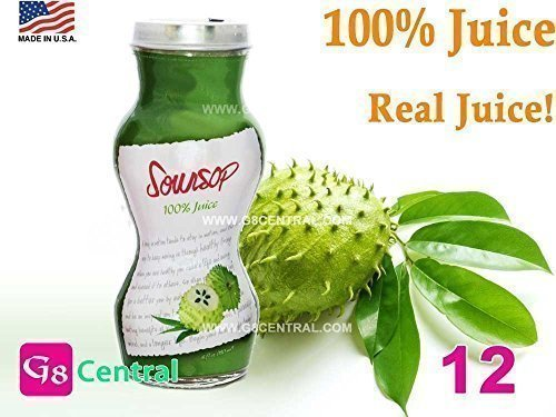 SOURSOP Guanabana Graviola REAL TASTE 100 Juice 6 oz  180 ml Pack of 12