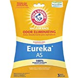 Arm & Hammer Odor Eliminating Vacuum Bags, Eureka AS AirSpeed Style, 9-Pack