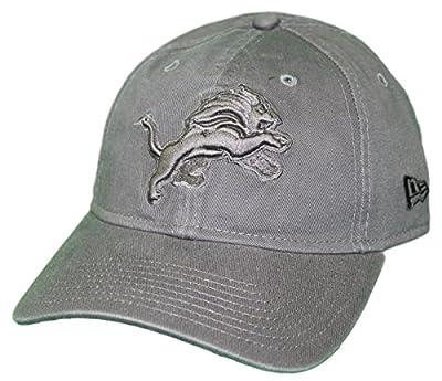 New Era Detroit Lions NFL 9Twenty Classic Tonal Adjustable Graphite Hat by New Era