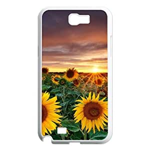 Sunflower Classic Personalized Phone Case for Samsung Galaxy Note 2 N7100,custom cover case ygtg562581
