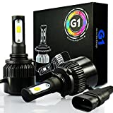 Image of JDM ASTAR G1 8000 Lumens Extremely Bright 9006 COB LED Headlights, Xenon White