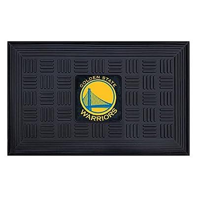 FANMATS NBA Golden State Warriors Vinyl Door Mat