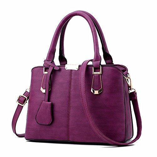 Noir Noir violet pour Femme Pochette BMKWSG SqBFBw