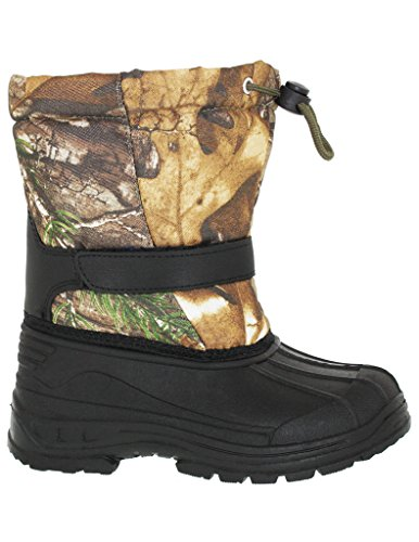 BIG BOY'S REALTREE CINCH TOGGLE CLOSURE SNOW BOOT, - Snow Boots Big Boys Size 6