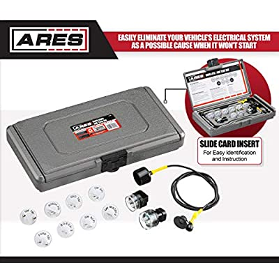 ARES 71500 - Noid Light & IAC Test Kit - Easily Eliminate EFI and IAC Systems as Causes for Non-Starting Vehicles: Automotive