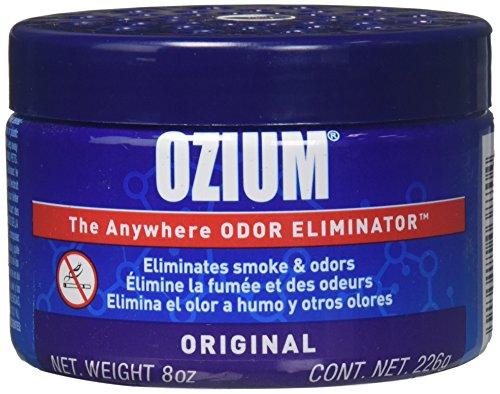Ozium Smoke & Odor Eliminator 8oz  Gel for Home, Office and