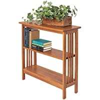 Manchester Wood Mission 30 Bookshelf - Golden Oak